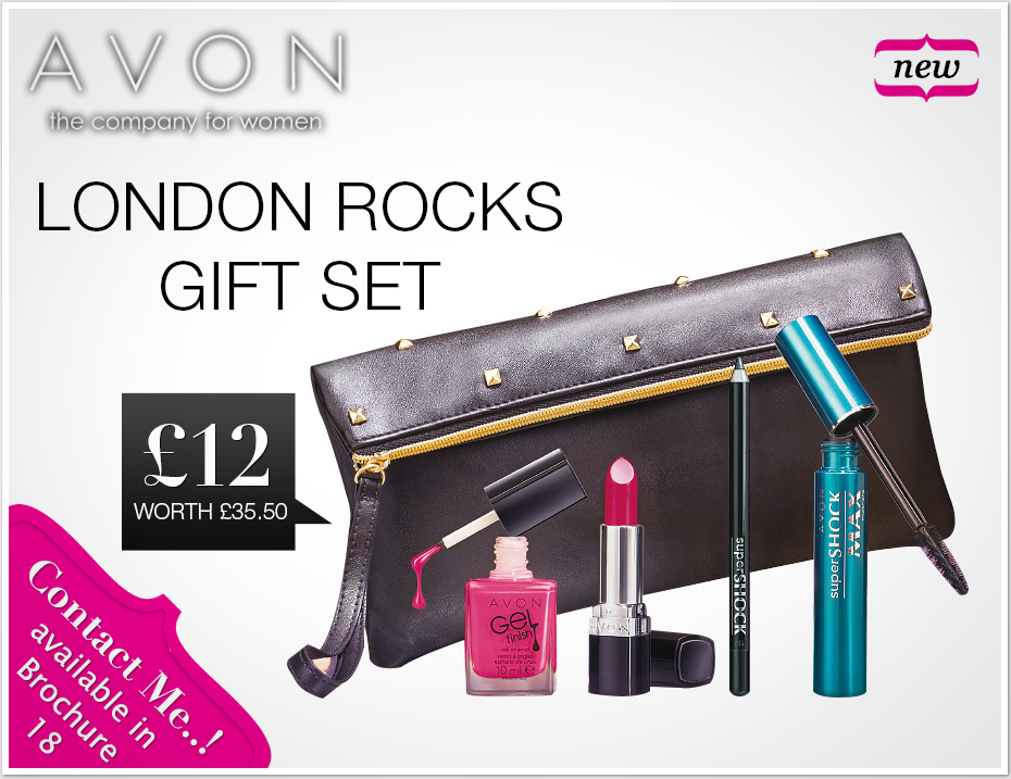 Avon | London Rocks Gift Set | £12