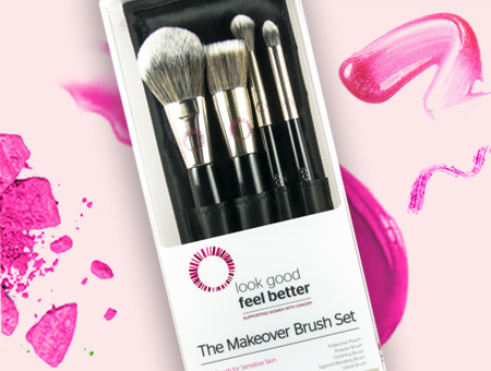 Look Good Feel Better make-up brushes