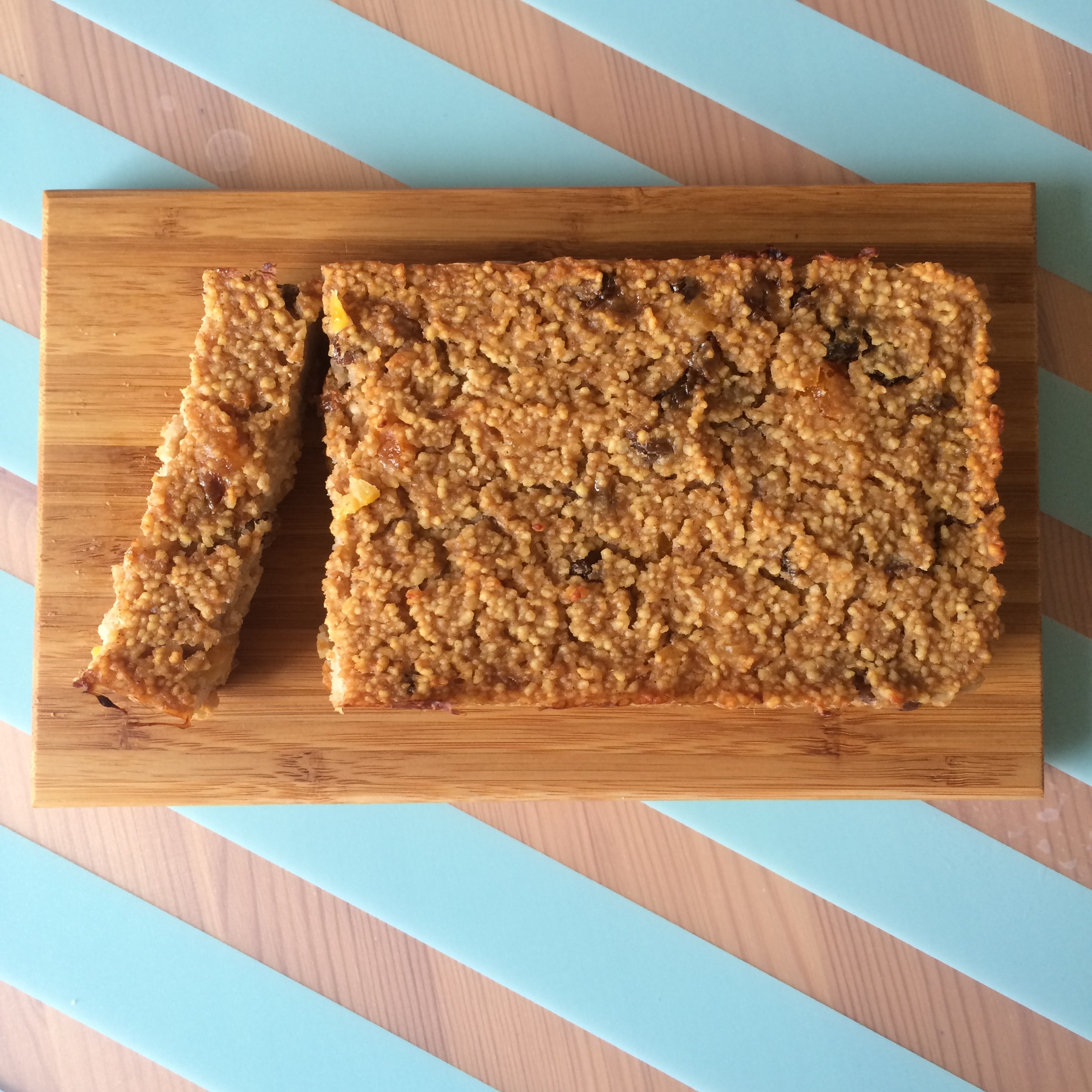 Apricot & Sultana Couscous Loaf