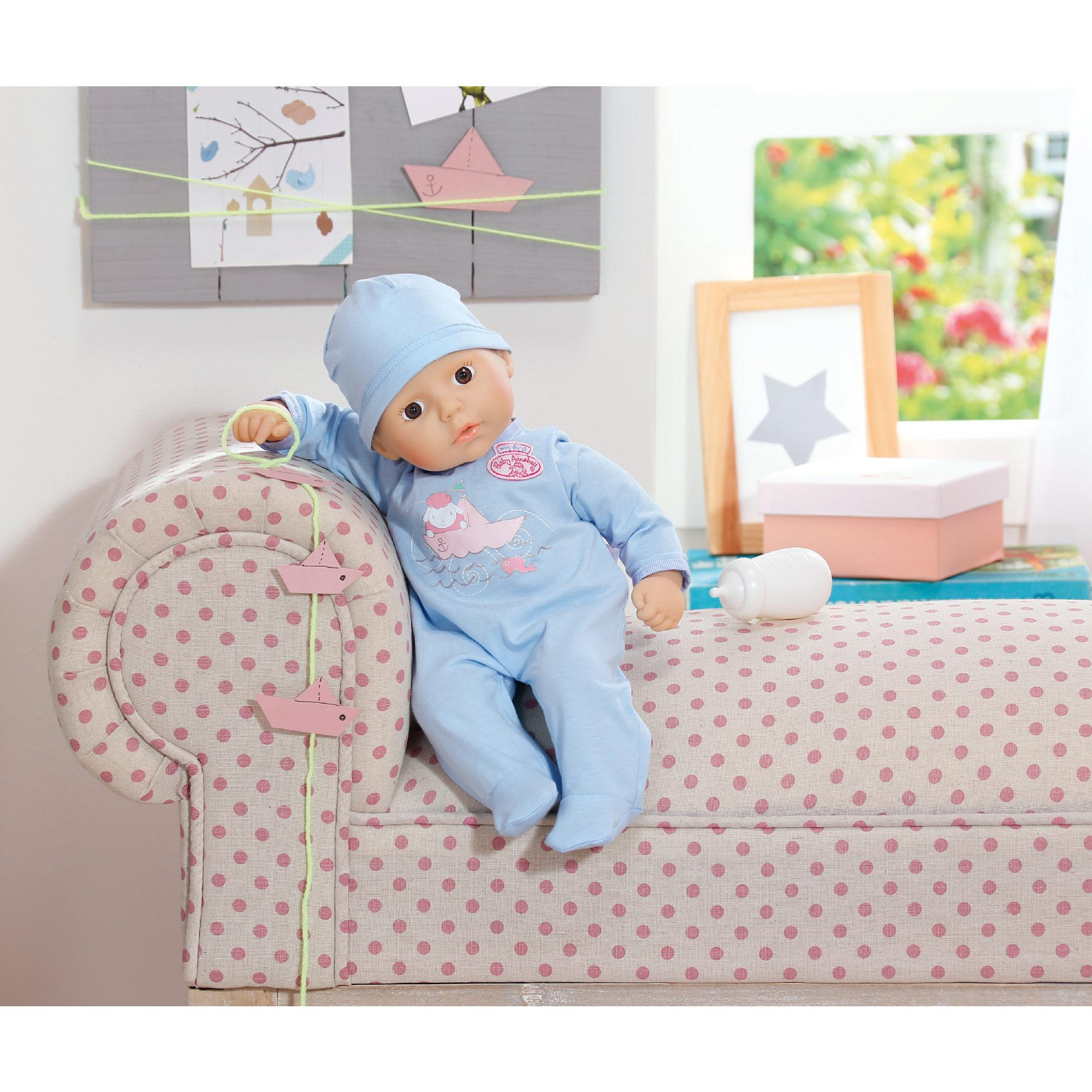 review baby annabell little brother doll the family. Black Bedroom Furniture Sets. Home Design Ideas