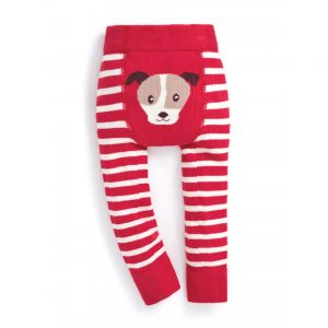 Dog Stripe Baby Leggings