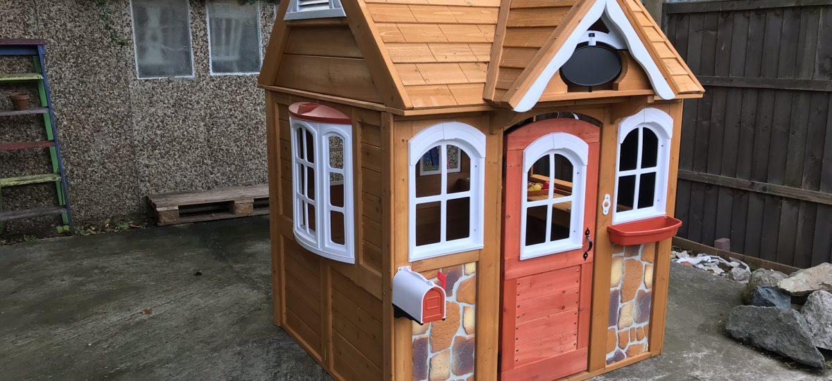 KidKraft Stoneycreek Outdoor Playhouse | Review
