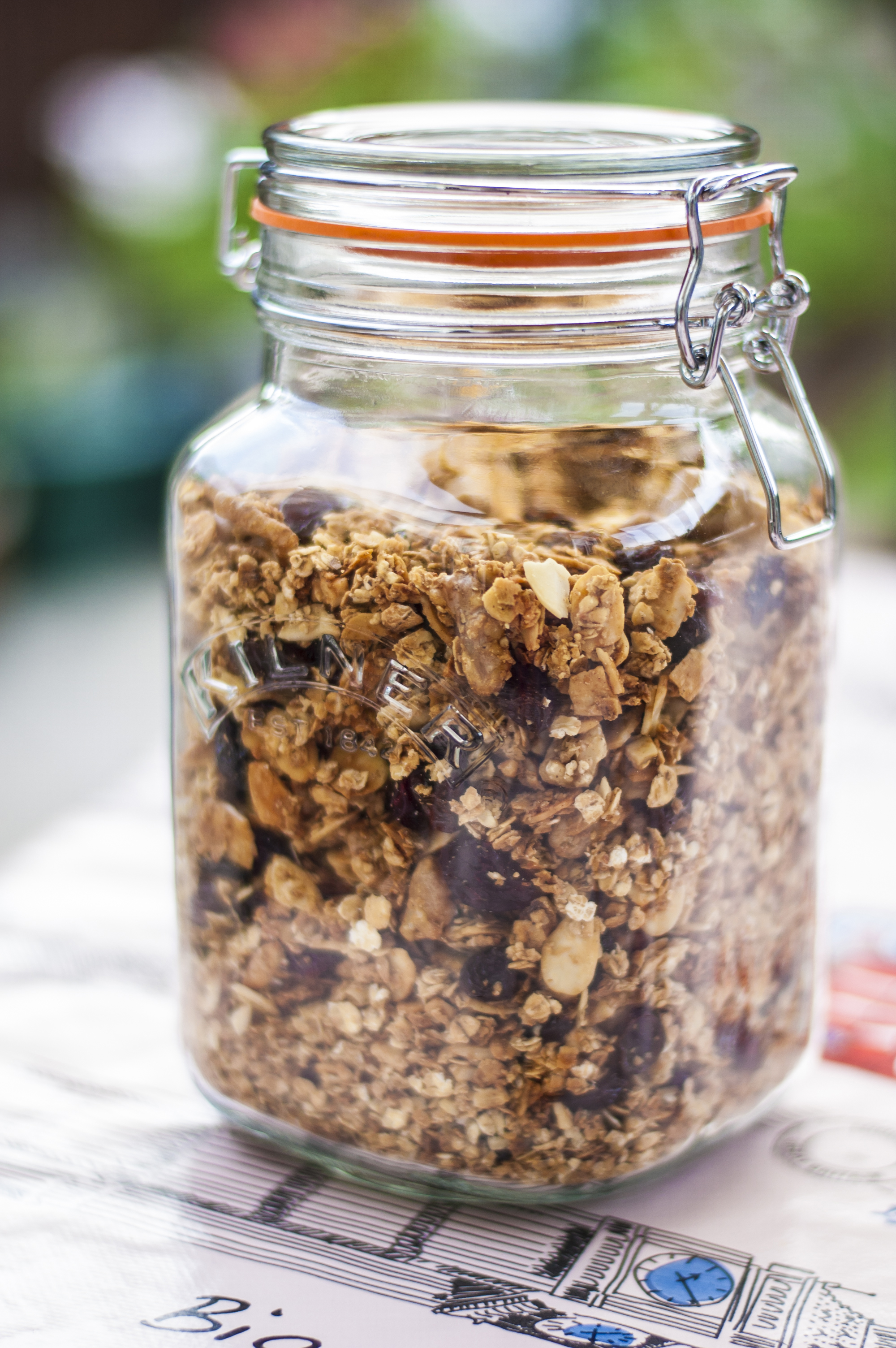Recipe | Coconut and Cranberry Granola