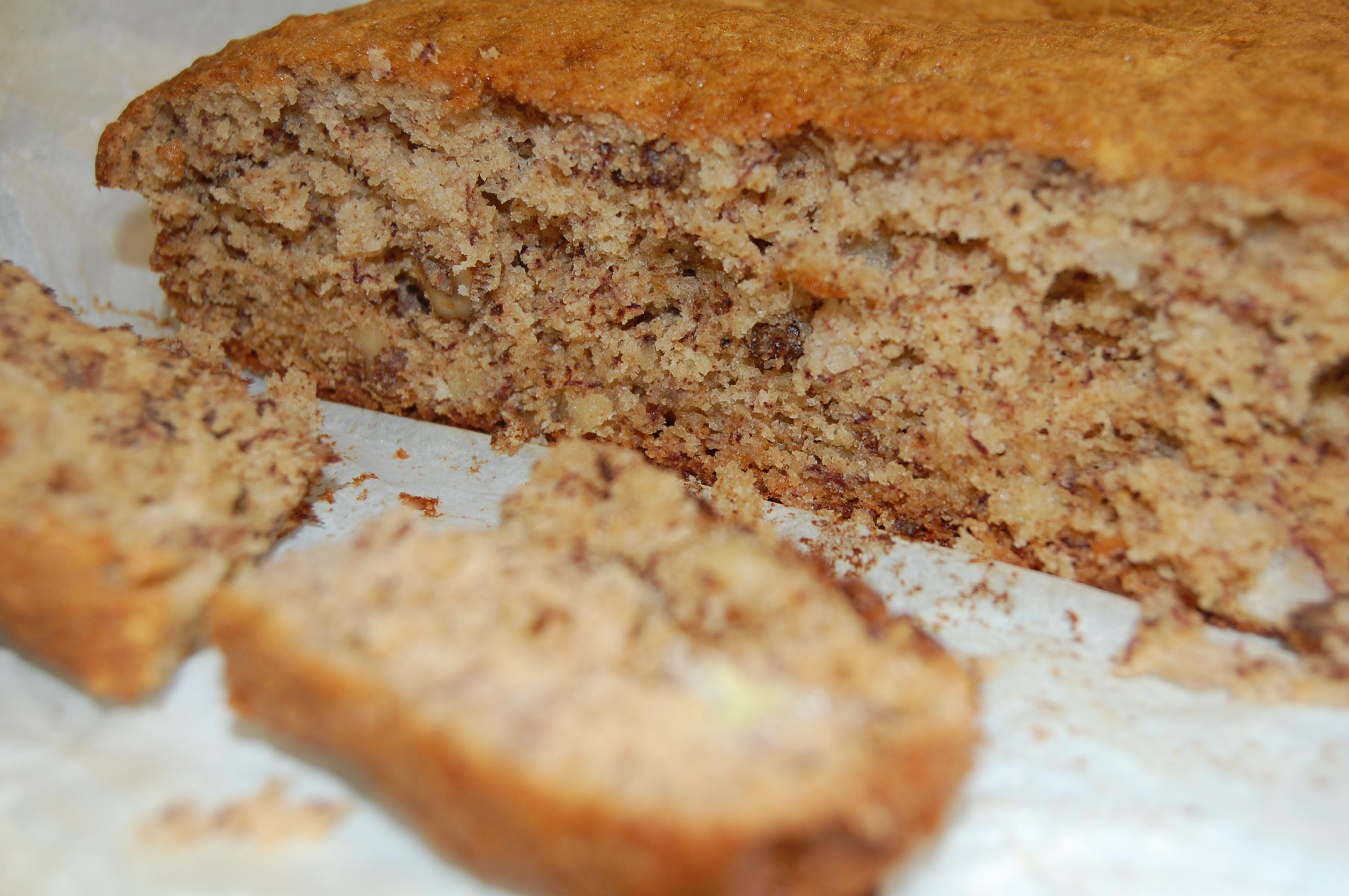 Recipe | Walnut and Banana Cake