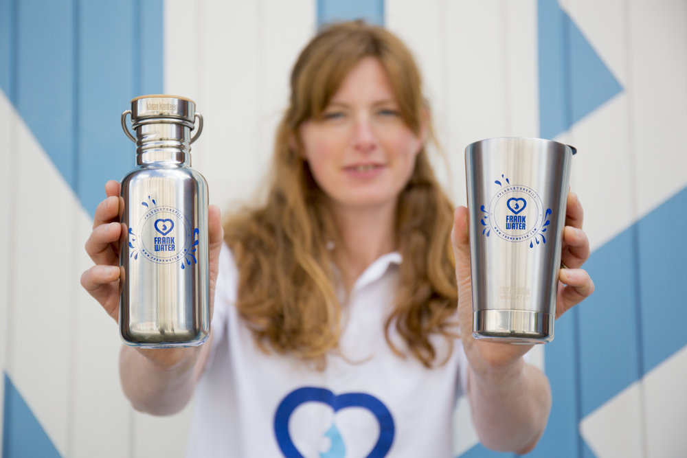FRANK Water Goes Single-Use Plastic Free